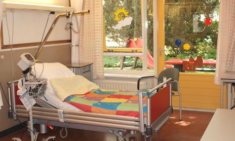 Opname in het ziekenhuis